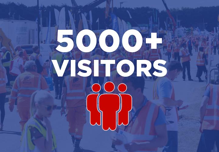 5000+ visitors