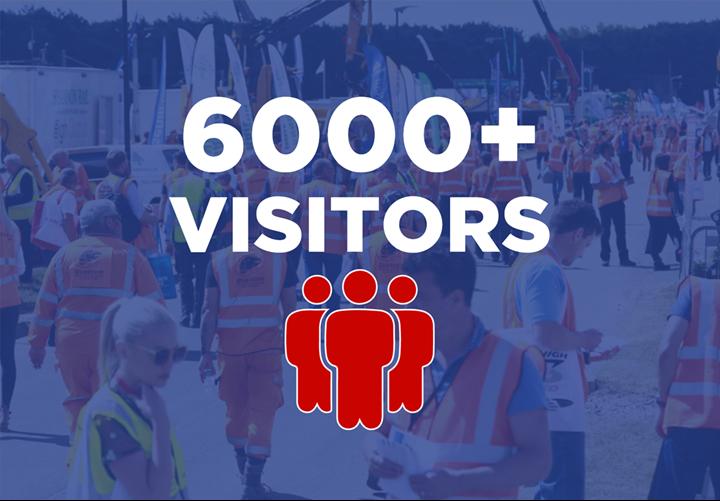 6000+ visitors