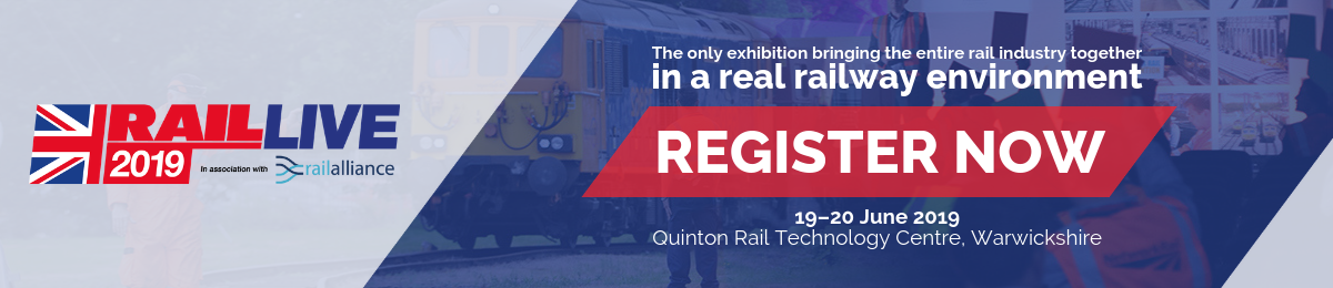 RailLive 2019 | Register Now